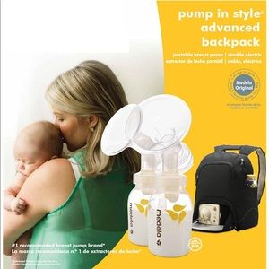 Medela Pump Advanced In Style Backpack